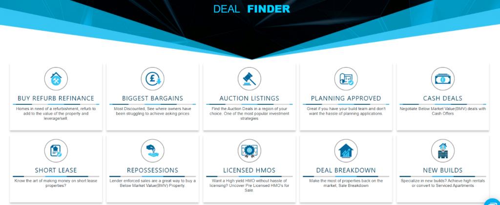 Deal Finder Update