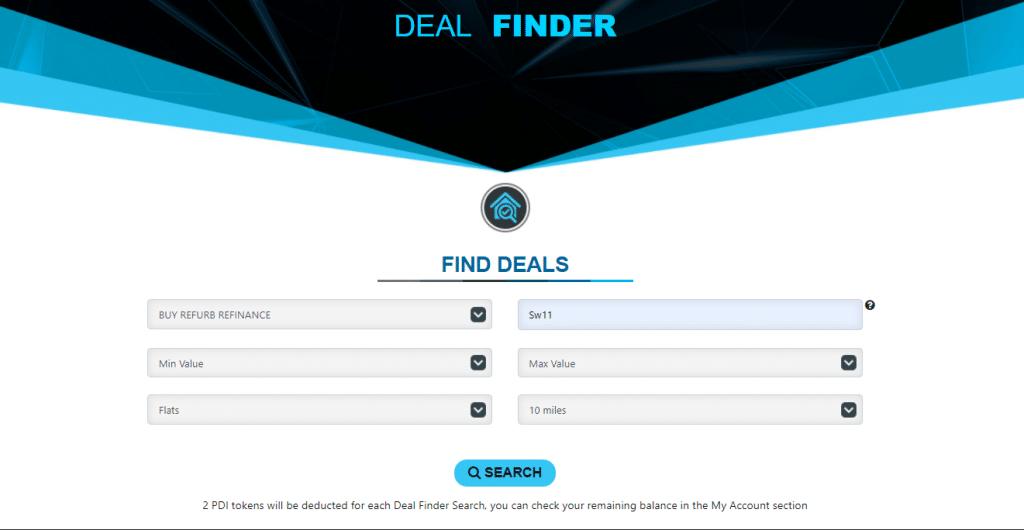 Deal Finder Criteria for BRR