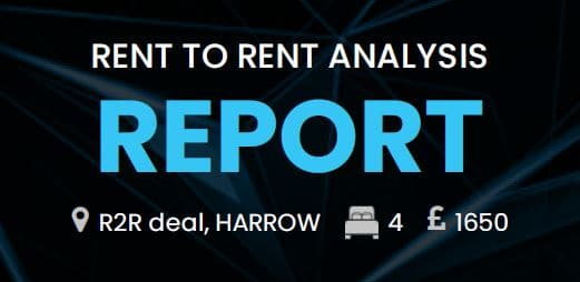 Rent to Rent deal packs - Property Deals Insights