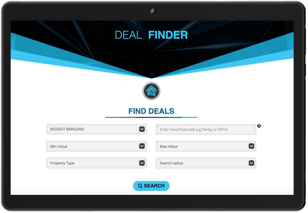 Deal Finder search engine