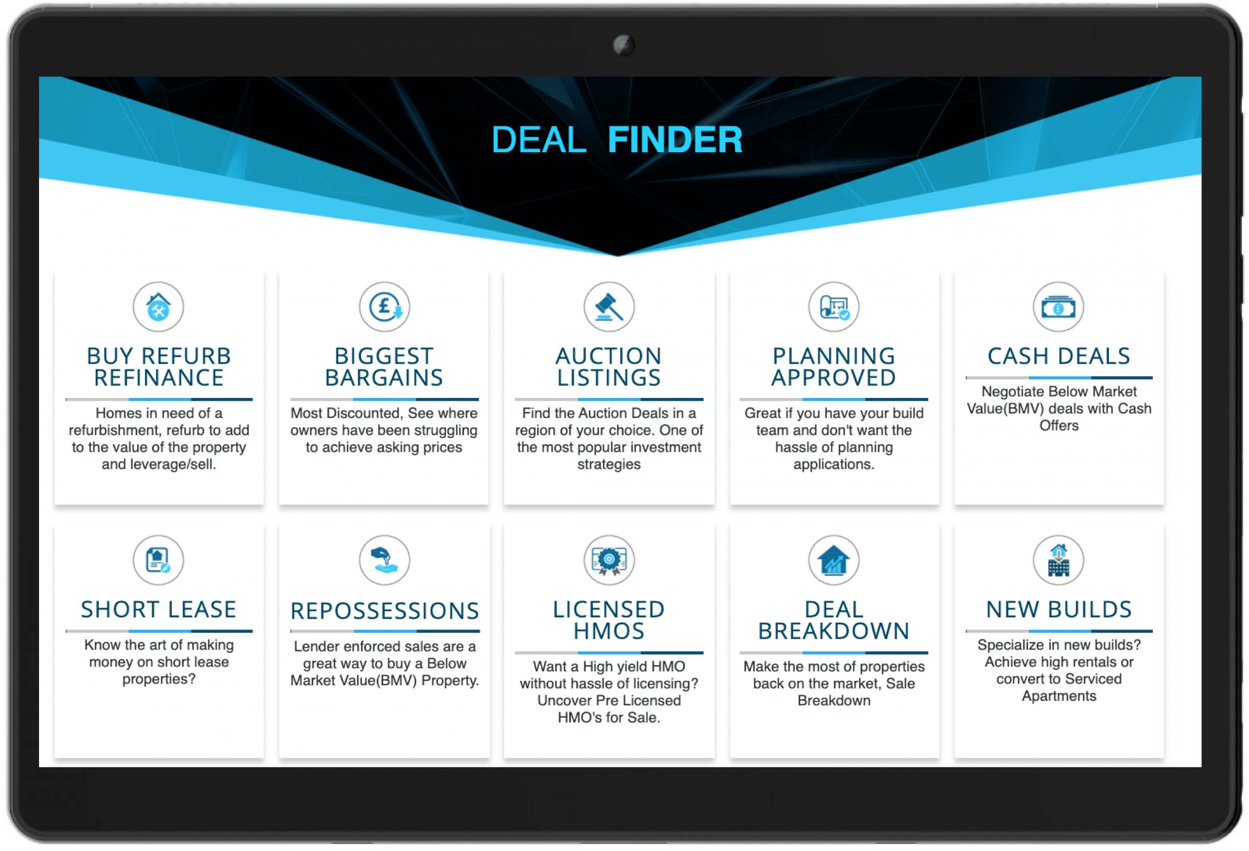 Property Deals Insight Deal Finder