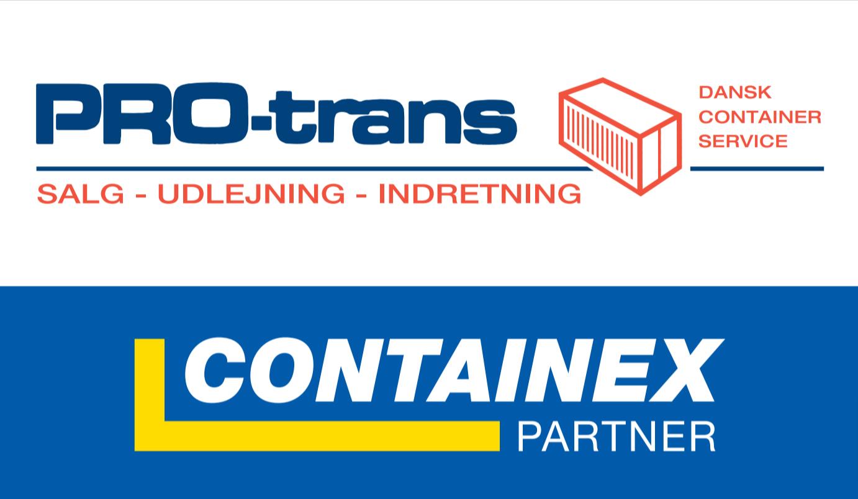Samarbejdspartnere i 30+ år PRO-trans og CONTAINEX