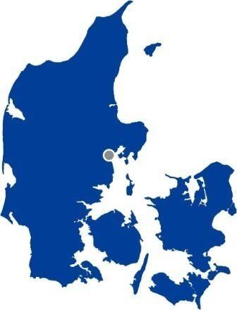 Århus på DK kort