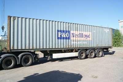 Brugt skibscontainer 40 fods