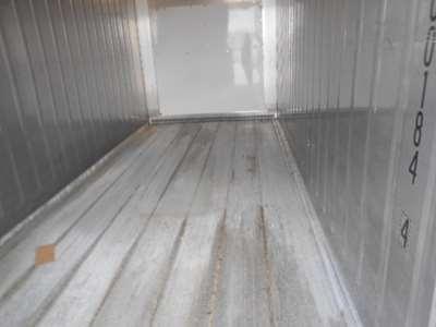 20 fods reefercontainer indefra