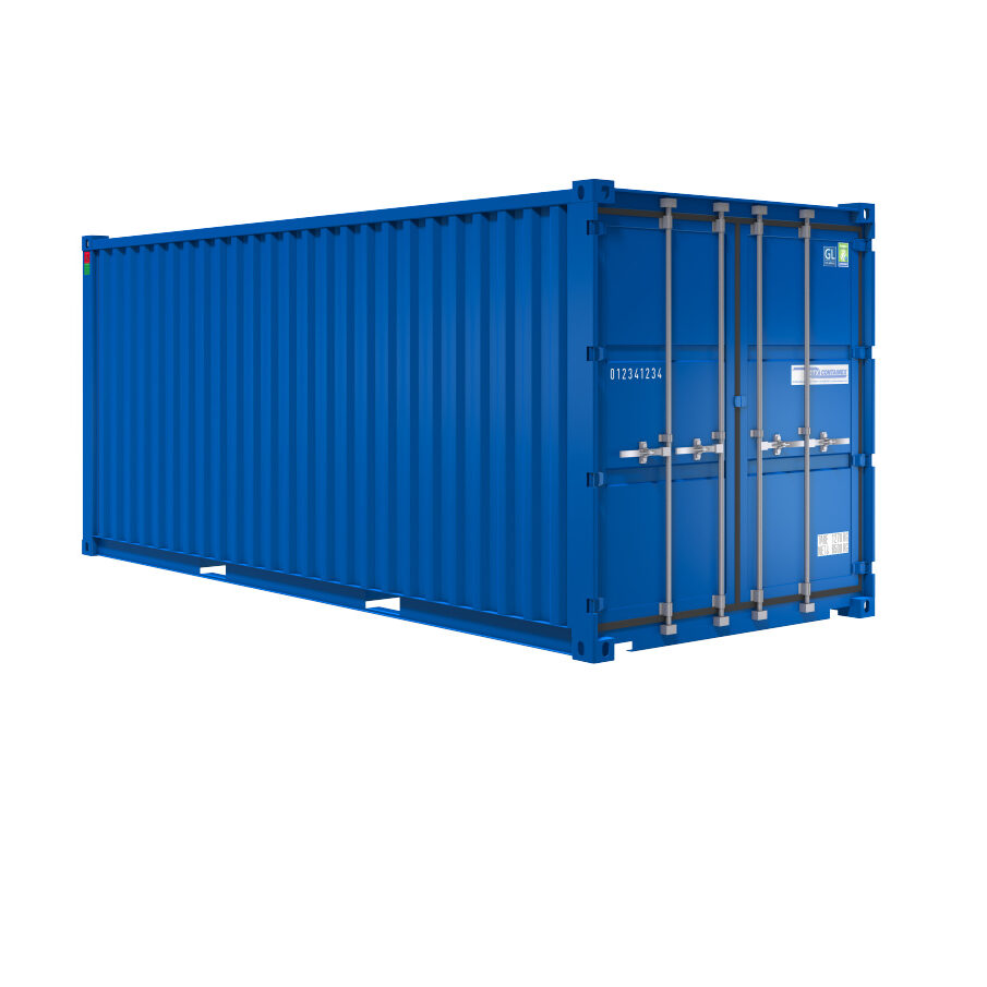 20 fods lagercontainer fra Containex
