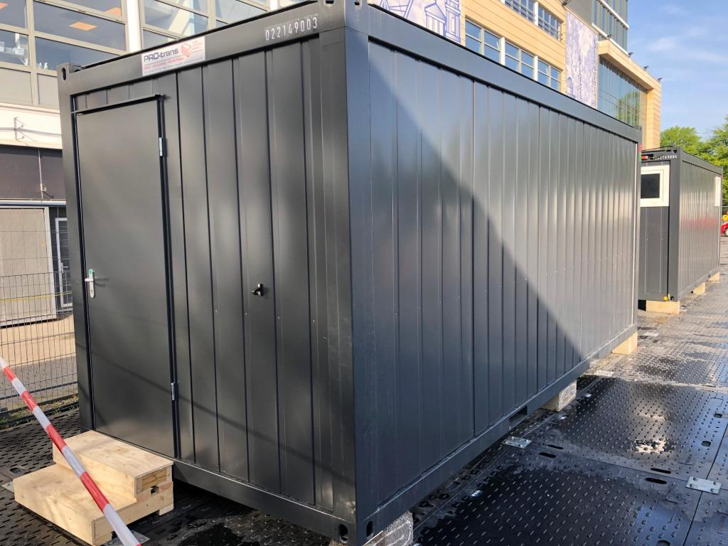 Sanitet container, herre, set udefra Classic Line, 022149003 fra Containex