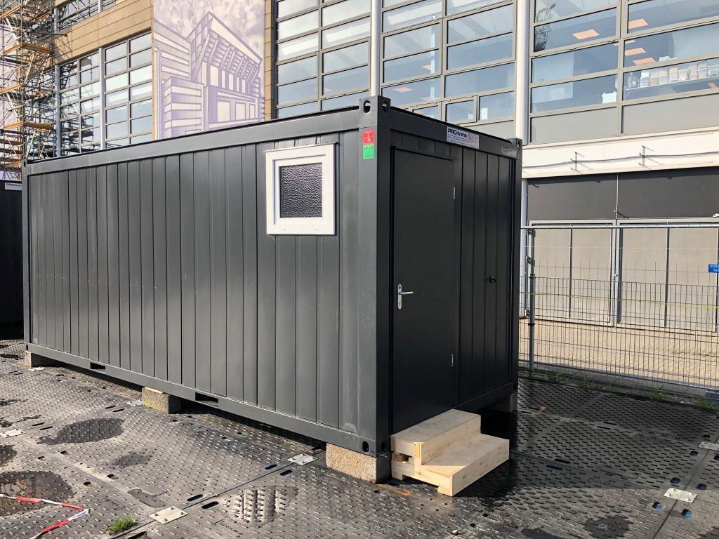 Sanitet container, Classic Line, 022149004 fra Containex, set udefra