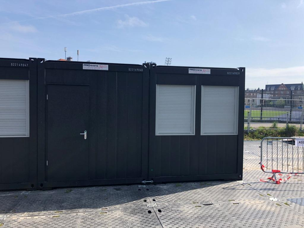 kontorcontainer, 2x20' Classic Line, 022149040 fra Containex