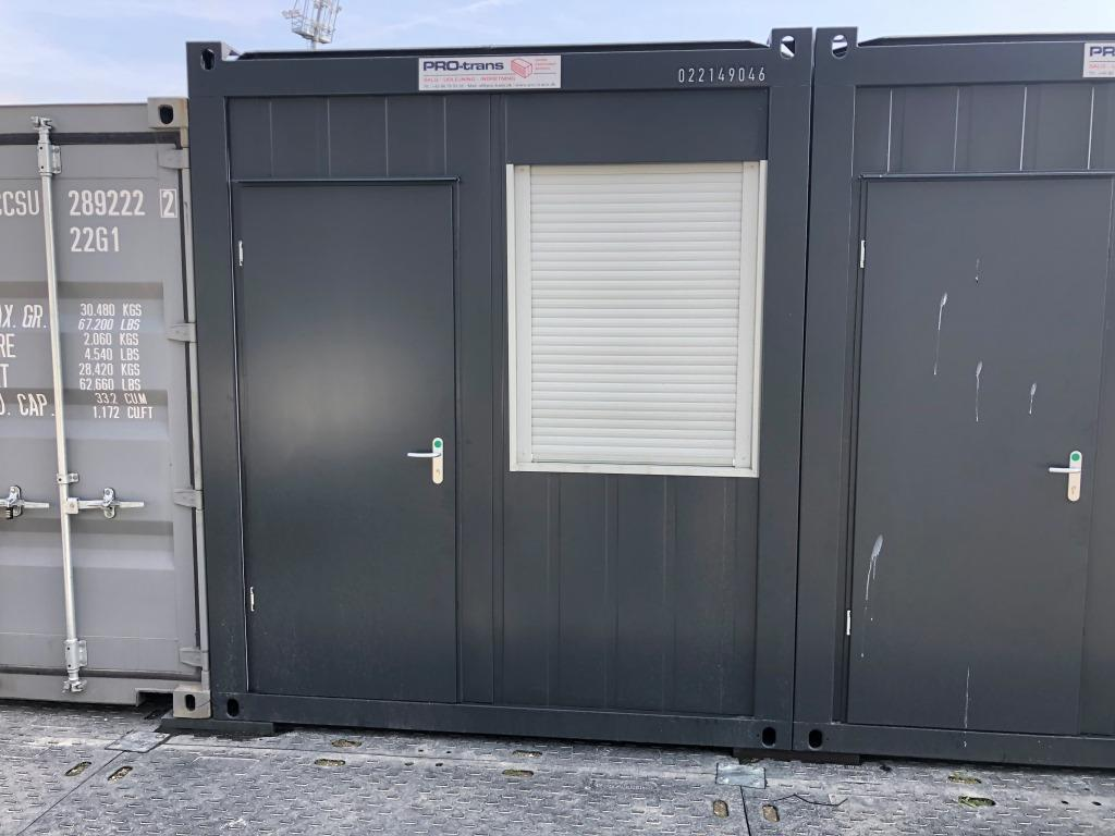 kontorcontainer, 20' Classic Line, 022149046 fra Containex
