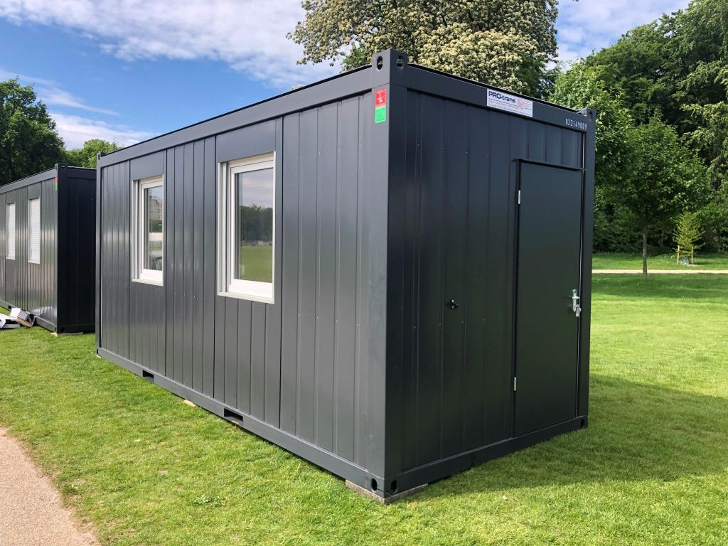 kontorcontainer, 20' Classic Line, 022149009 fra Containex