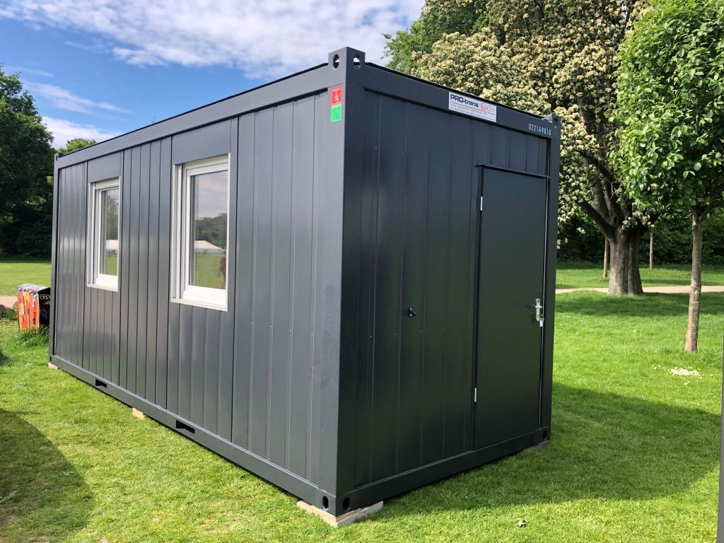 Kontorcontainer, 20' Classic Line, 022149010 fra Containex
