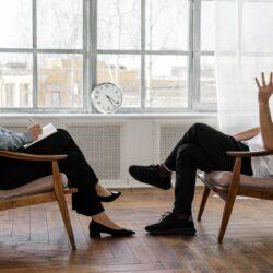 praten met een psycholoog