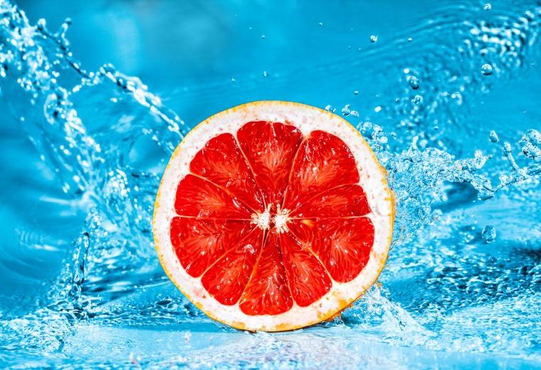 Image of freshly cut fruit