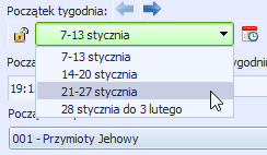 List of dates in Polish using genitive form.