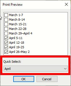 Quick Select