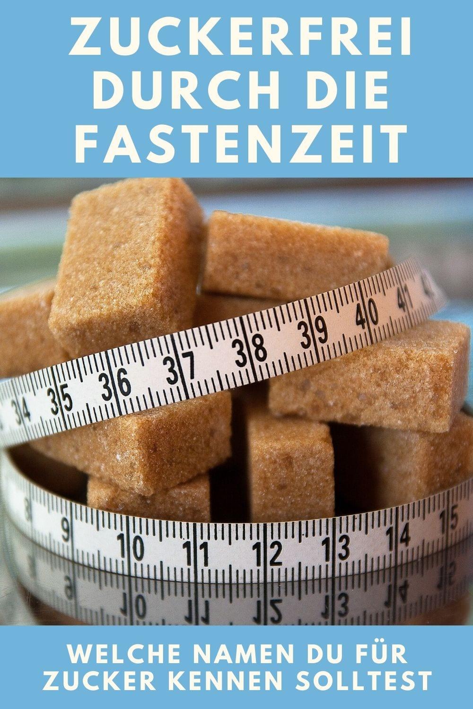 Zuckerfrei durch die Fastenzeit? Unter diesen Namen versteckt sich Zucker in Lebensmitteln.