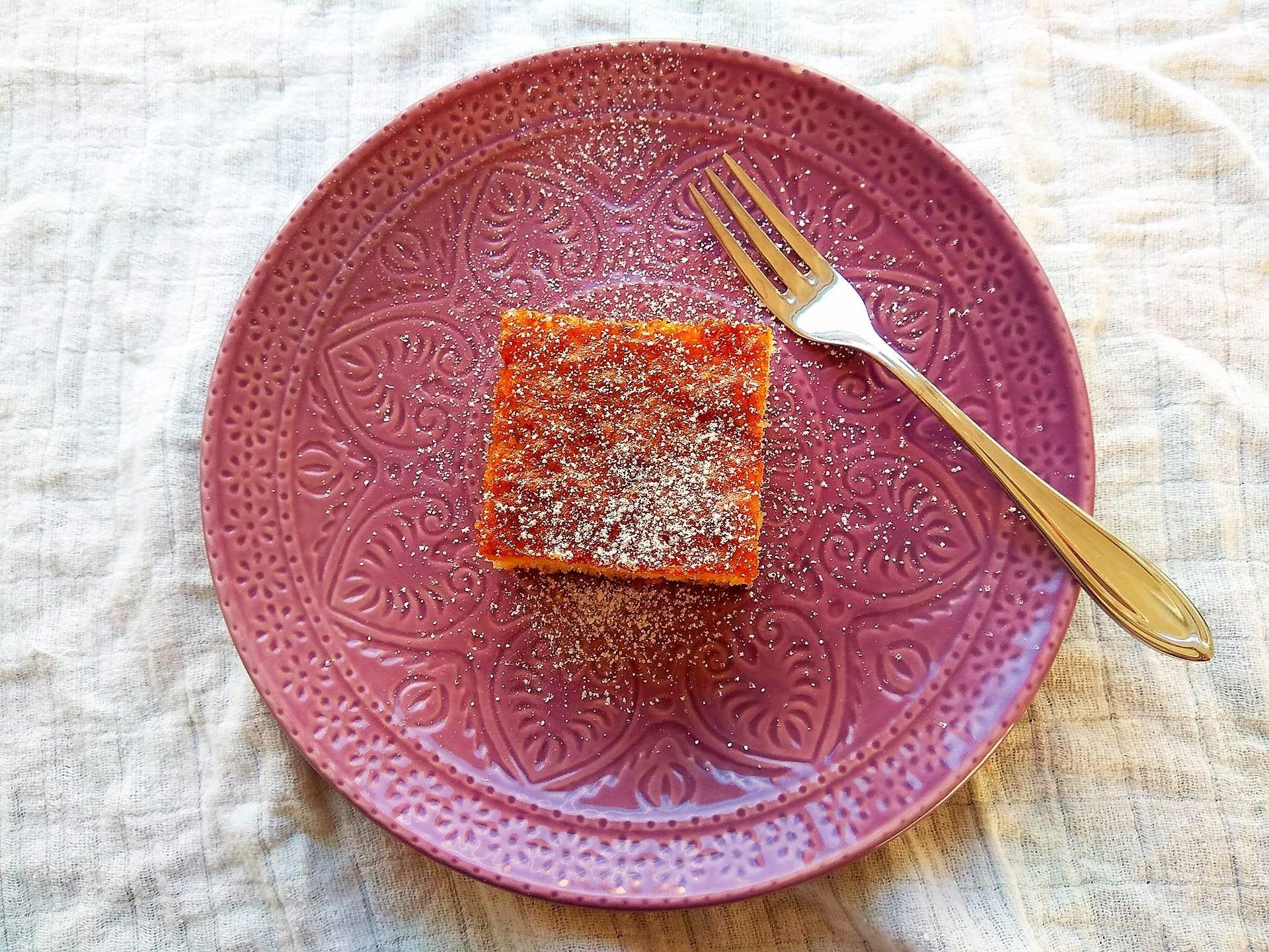 Eierlikörkuchen, Kuchen, Backen, Eierlikör, Rezept, simpel, Blechkuchen, Puddingklecks