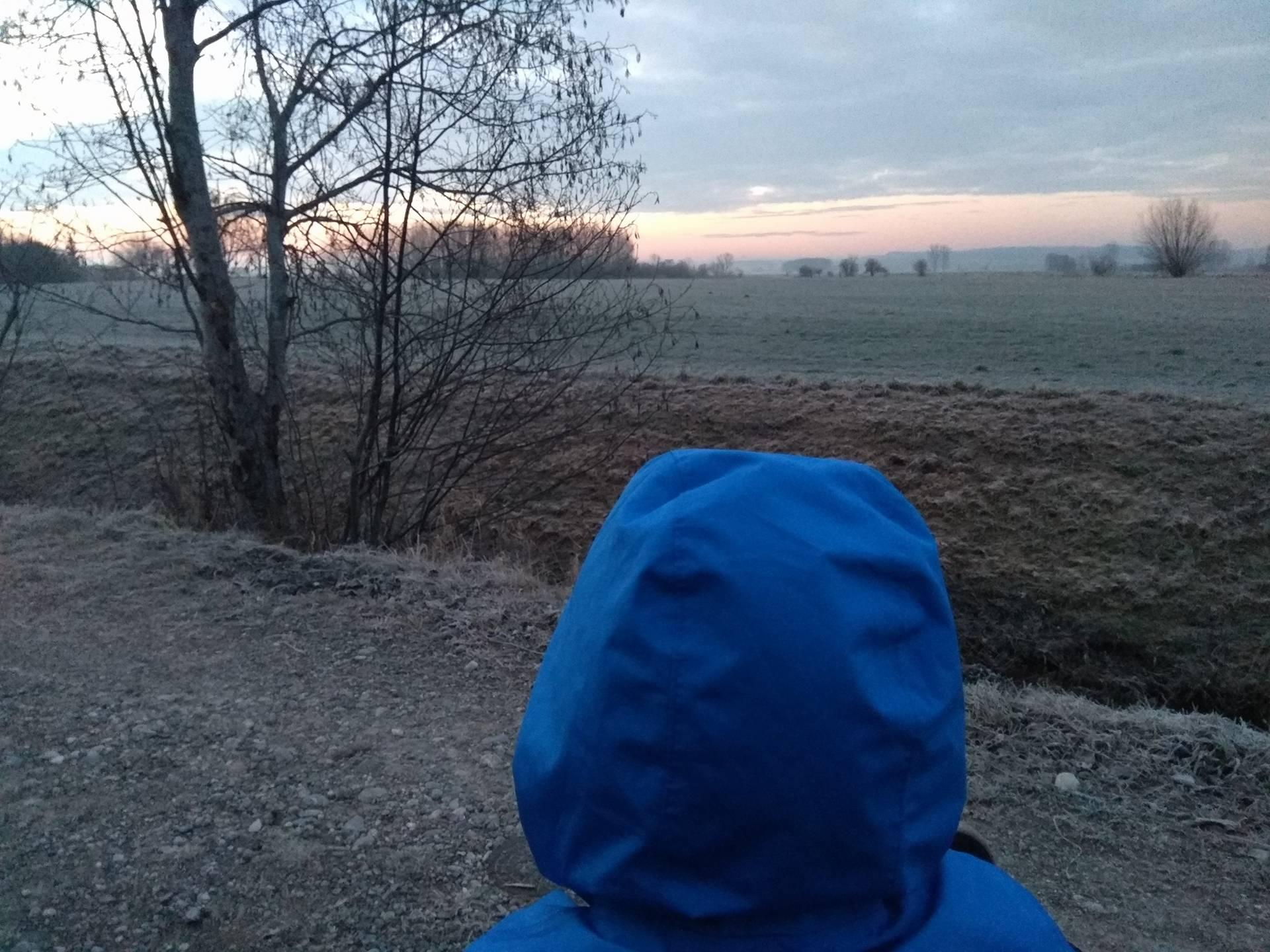 Sonnenaufgang, Januar, Winter, Natur, Bayern, Allgäu