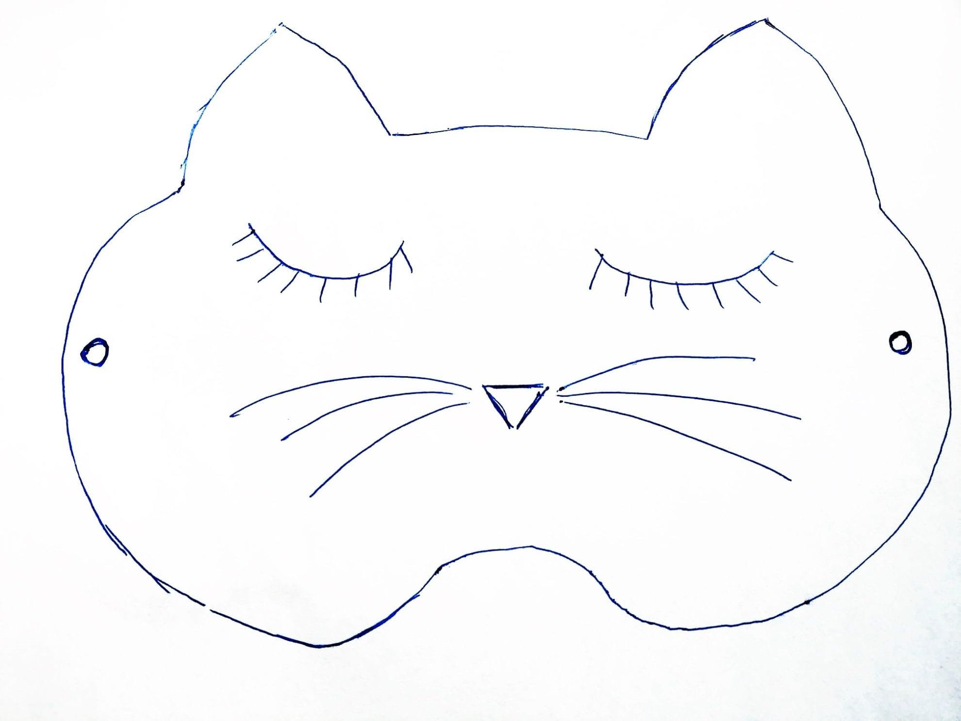 Schlafmaske Nahen Anleitung Und Schnittmuster 5