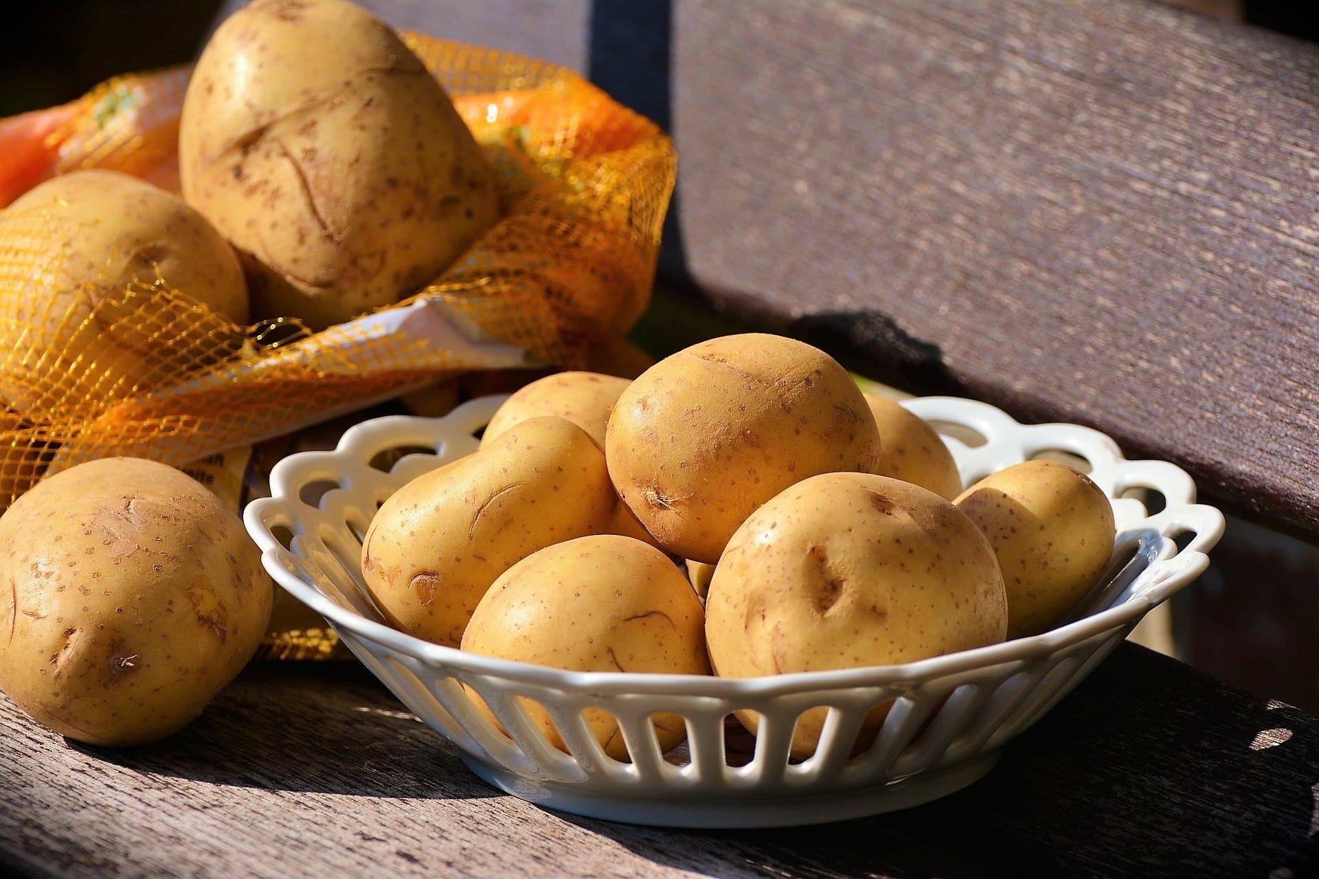 Kartoffeln, Pellkartoffeln, Rezept Wochenplan KW 51/2019