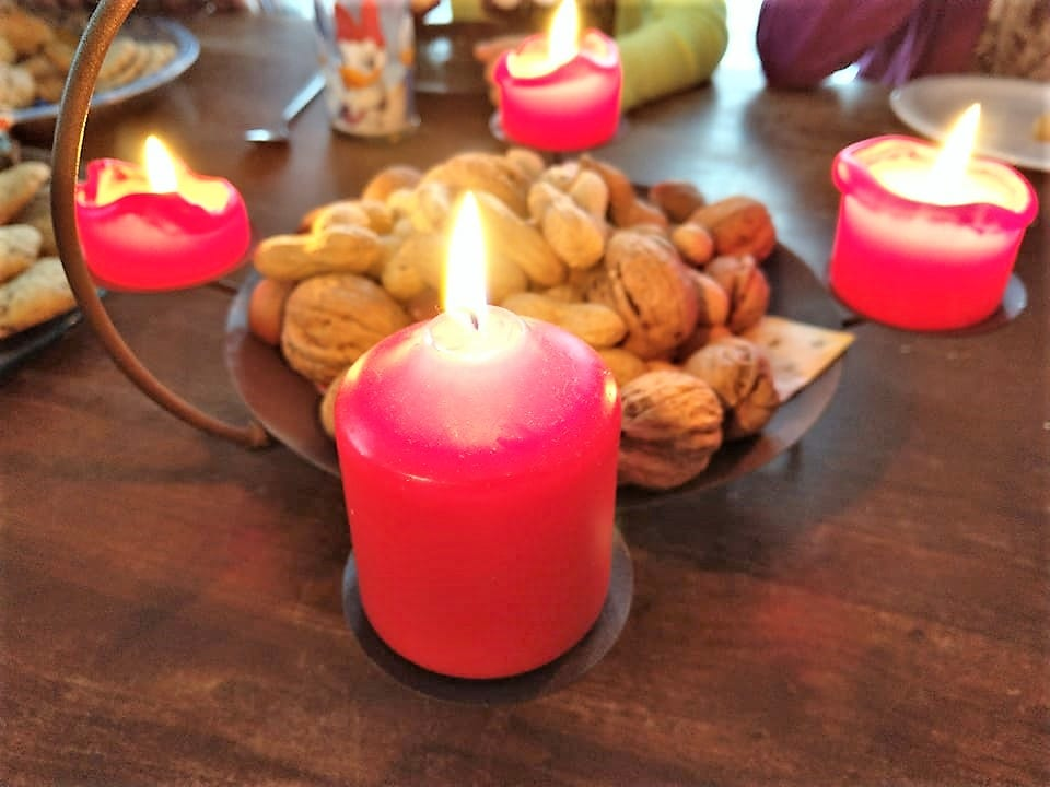 Der vierte Advent 2018 im Großfamilienblog Puddingklecks