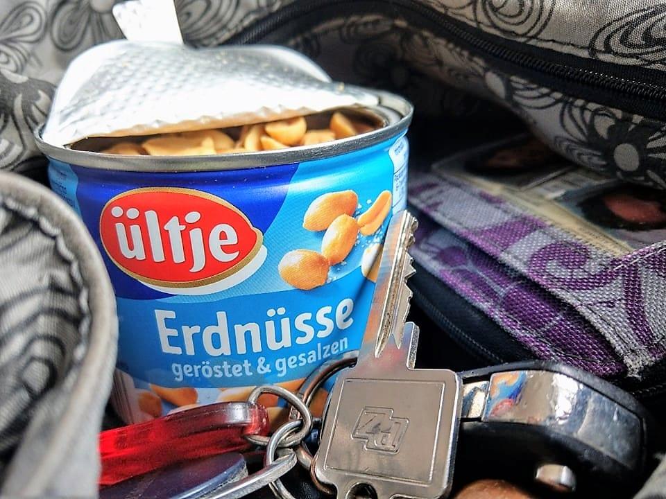 ültje Erdnüsse, geröstet & gesalzen, Handtasche, Zwischensnack