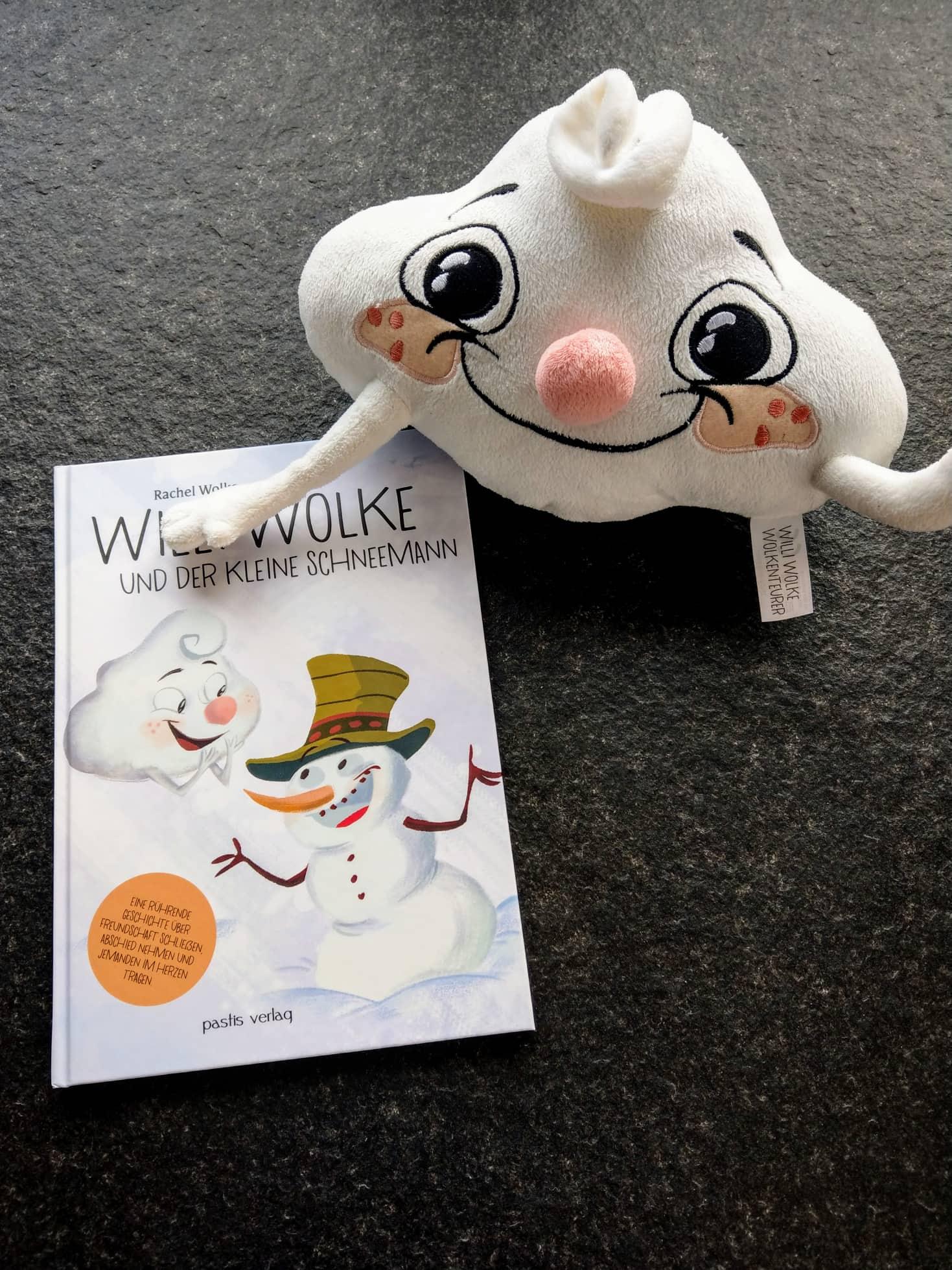 Willi Wolke ist ein Wolkenteurer, der auf seiner Reise Freundschaft mit dem Schneemann schließt. Eine tolle Geschichte über das Abschied nehmen und im Herzen tragen.