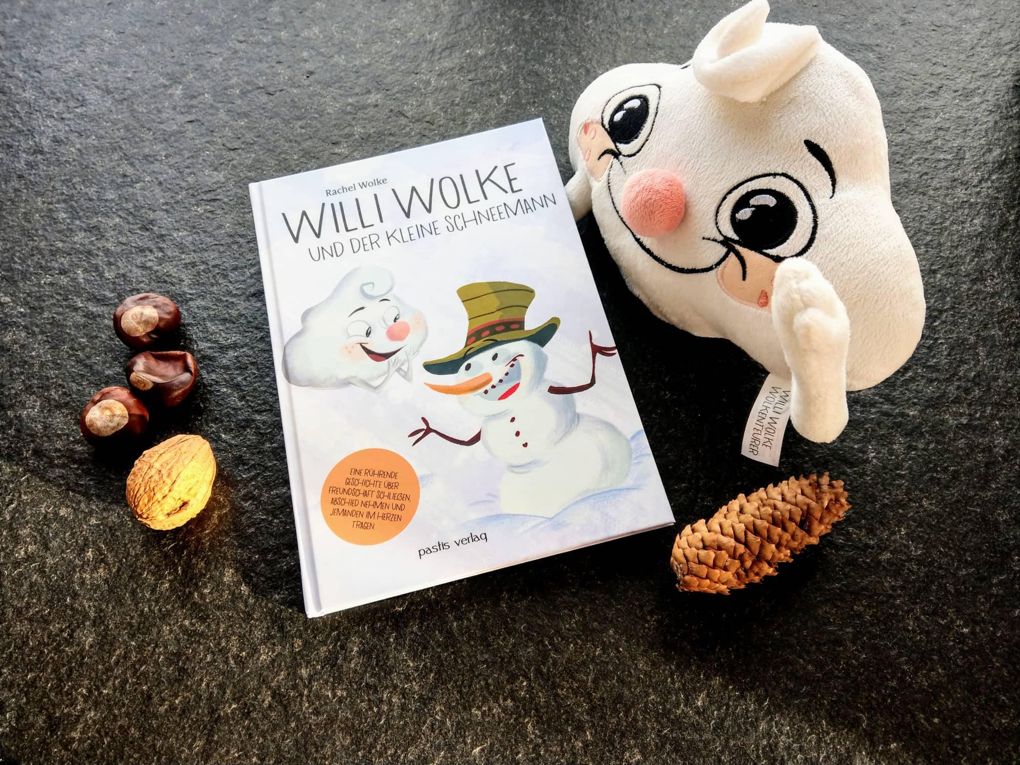 Willi Wolke und der kleine Schneemann: Kinderbuchtipp im Großfamilienblog Puddingklecks