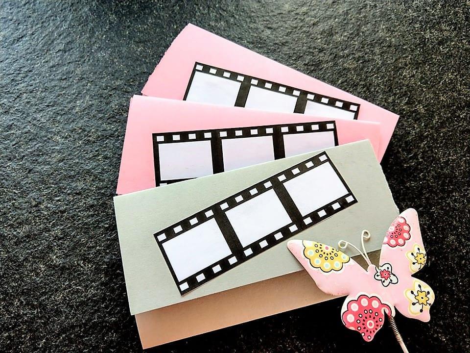 Geburtstagseinladungen ins Kino, DIY, Basteln mit Kindern, TonerPartner Kooperation, Werbung