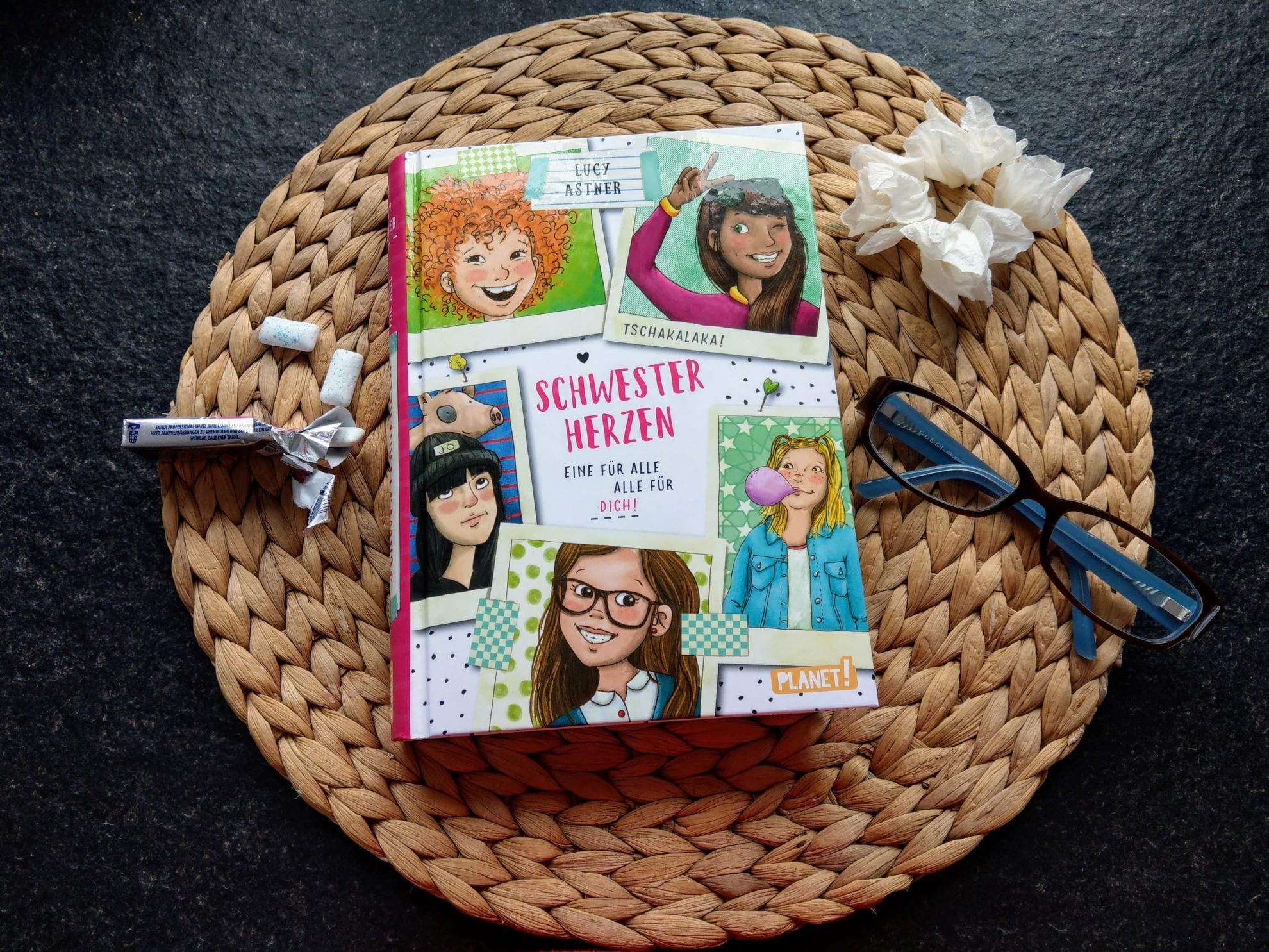 Kinderbuchtipp: Schwesterherzen - eine für alle, alle für Dich! Rezension, Verlosung