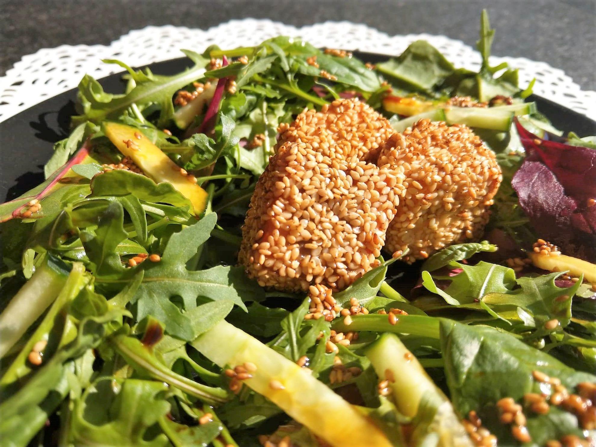 Escal Seafood, Kooperation, Lachs in Sesamkruste, Rezept, Food