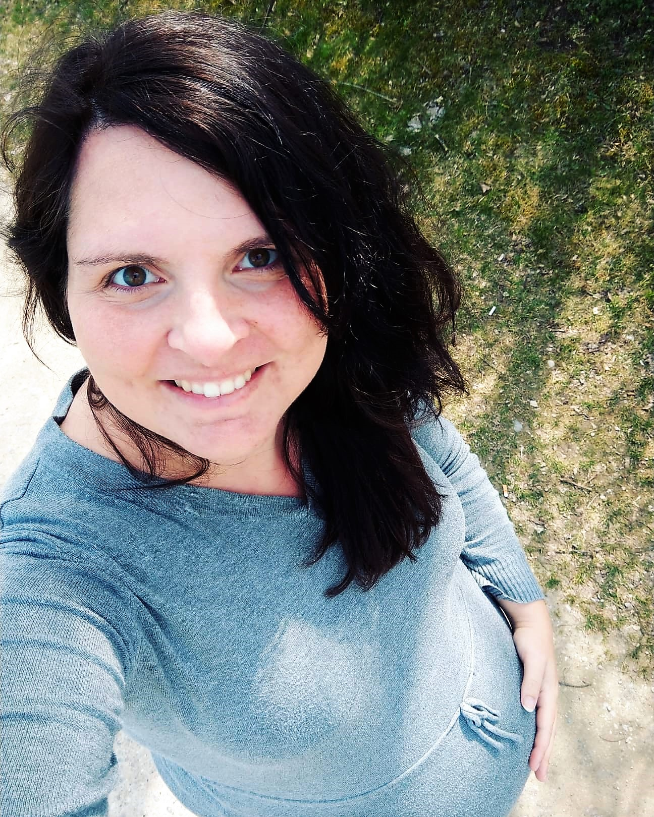Willkommen im 10. Monat. Die 37. Schwangerschaftswoche meines Schwangerschaftsupdates mit Wehen, Geburtsplanungsgespräch und Gelüsten.