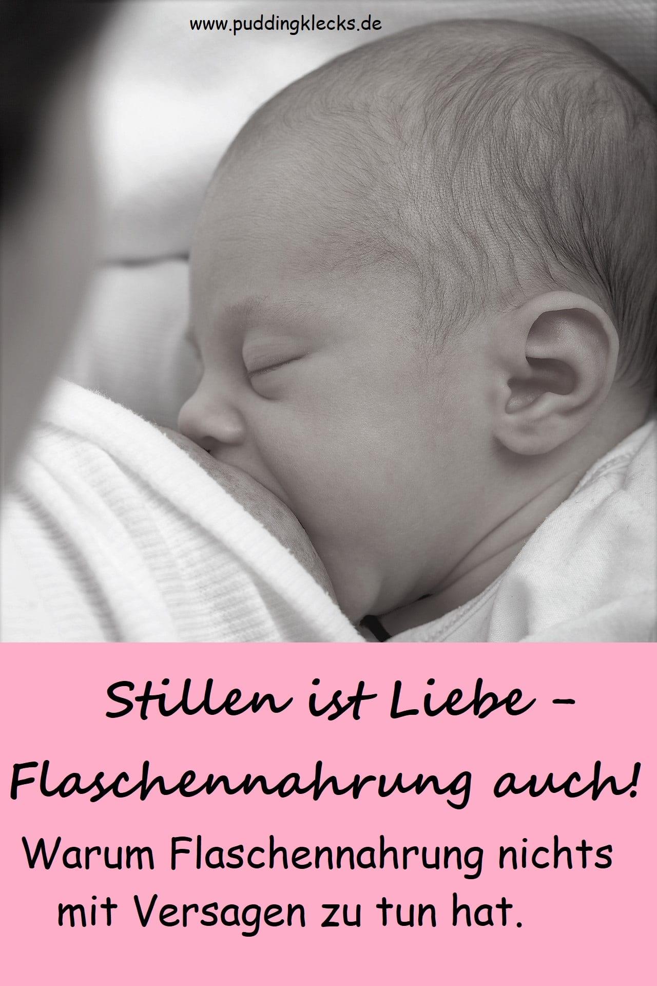 Stillen ist Liebe - Flaschennahrung auch? Warum wir aufhören sollten, die Brust zu glorifizieren und Babynahrung zu verteufeln. Stillen ist Nahrung. Fläschchen auch.