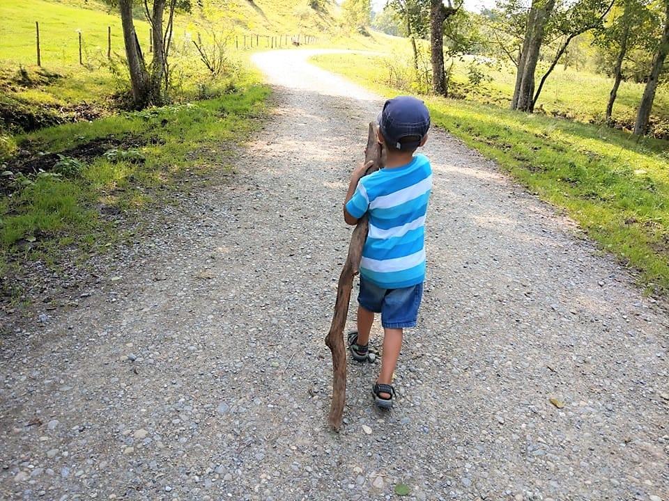 Wandern im Allgäu auf dem Carl-Hirschbeinweg
