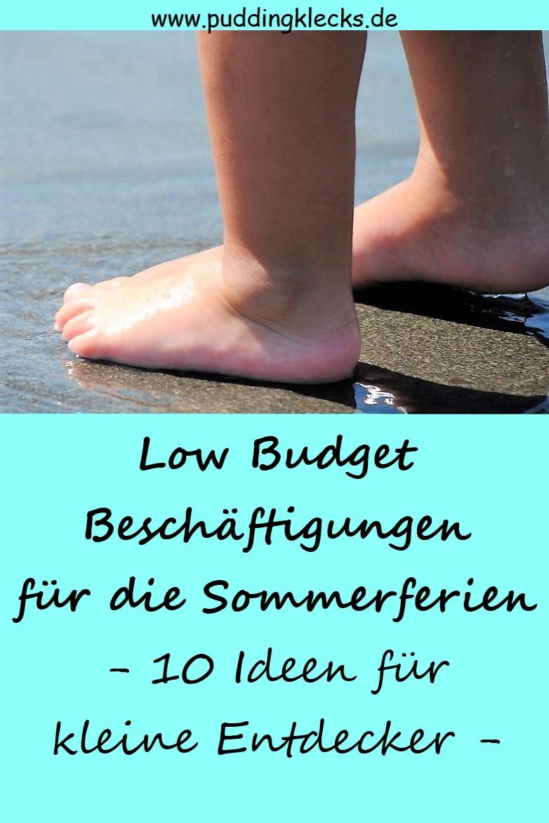 Kinderfüße, Sommer, Sommerferien