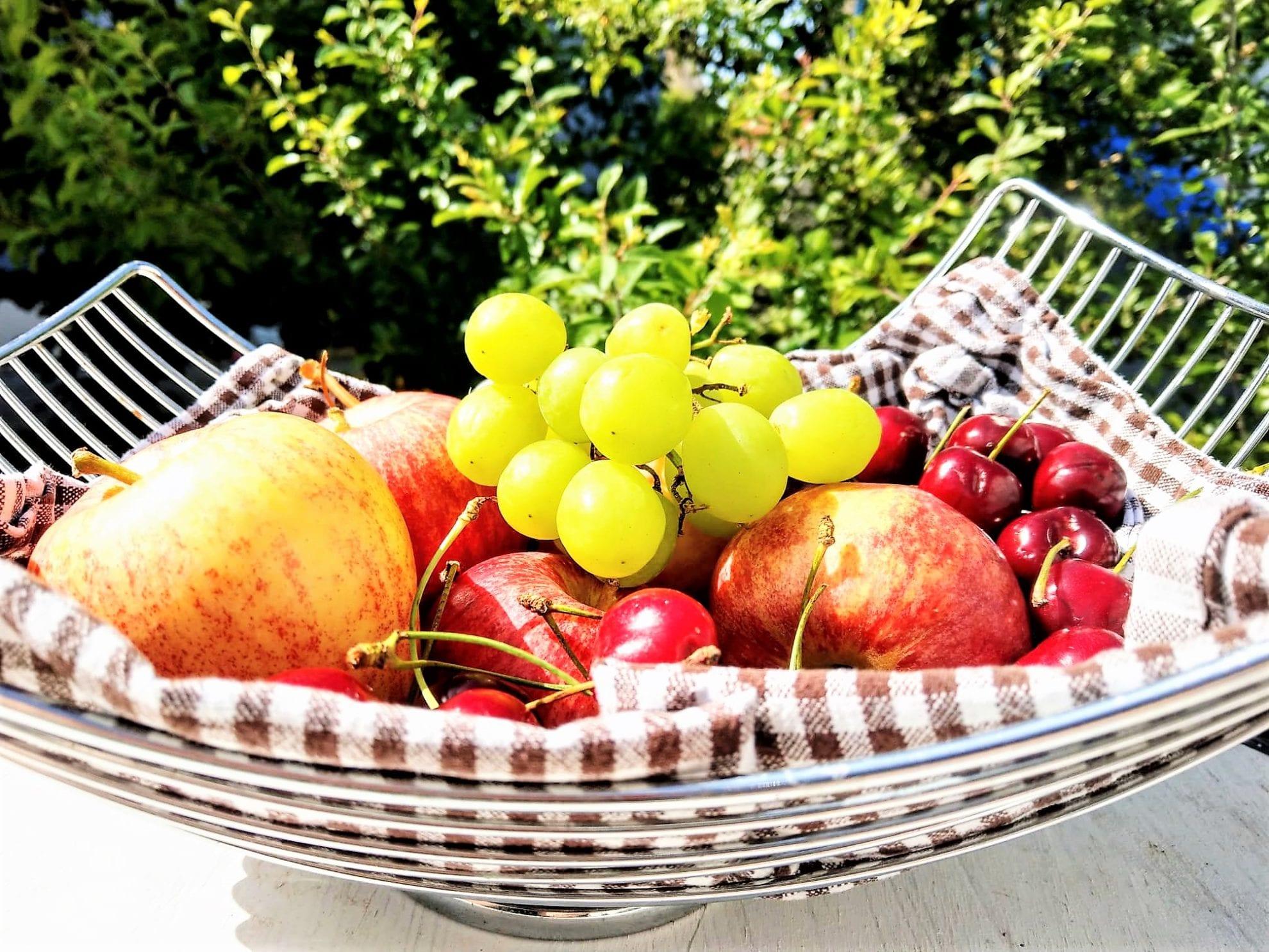 Snackideen, Obstkorb, Obst, Sommer, kinderleicht, Kindgerecht, Titelbild