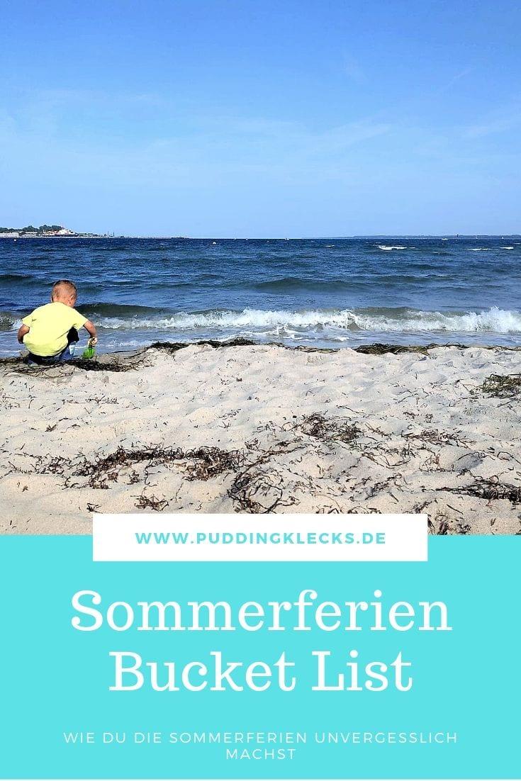 Strand Ferien Sommerferien Pin
