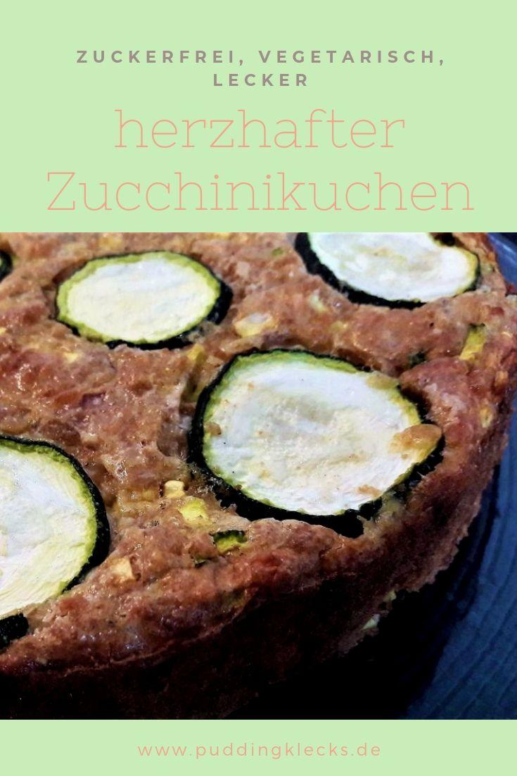Zucchinikuchen Pin