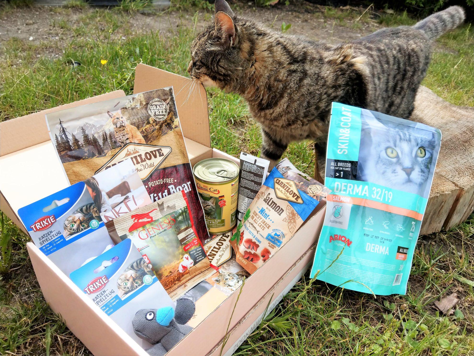 GoodieBox, Kater, Tierprodukte