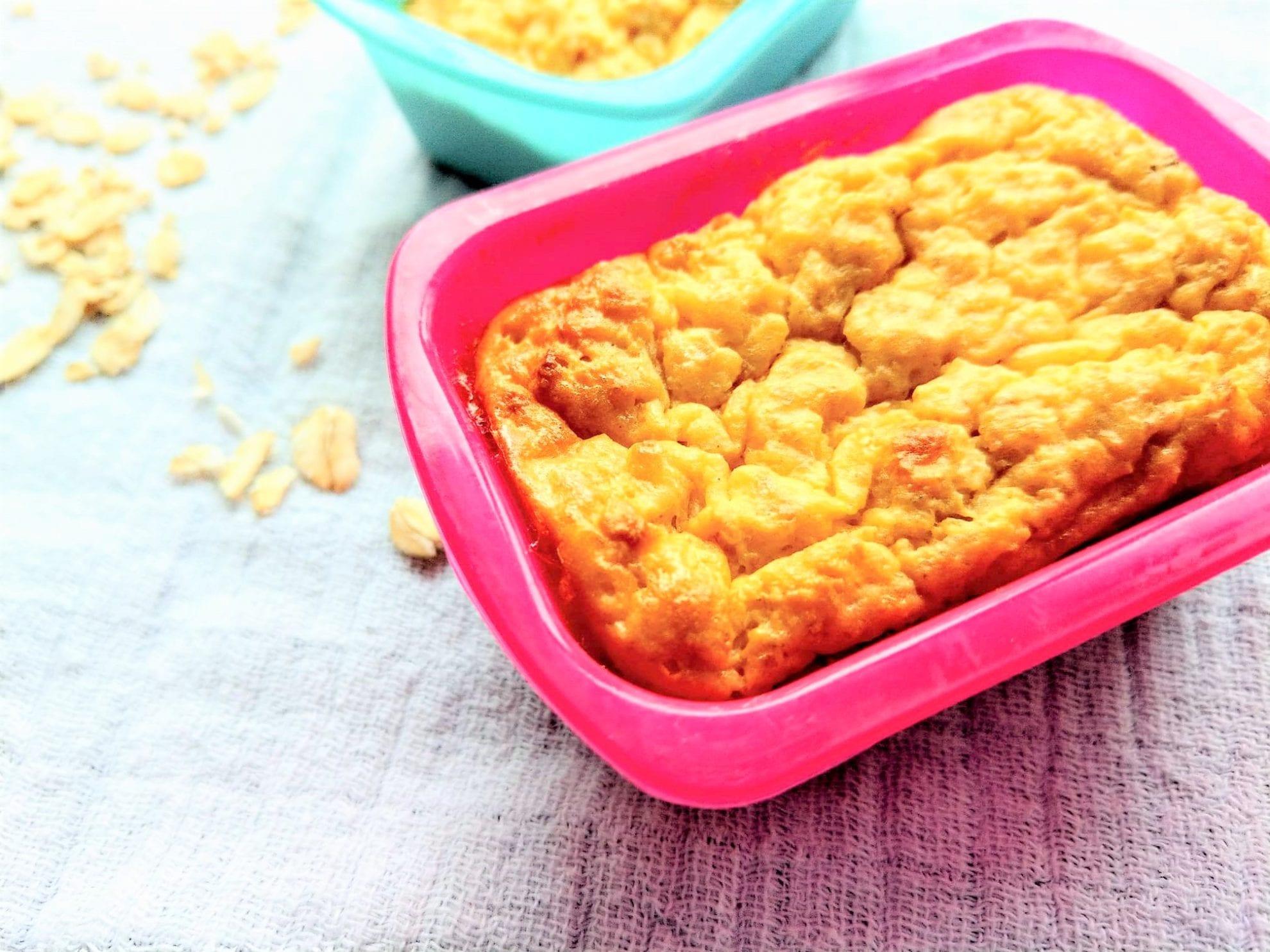 Frühstückskuchen Rezept mit Haferflocken simpel