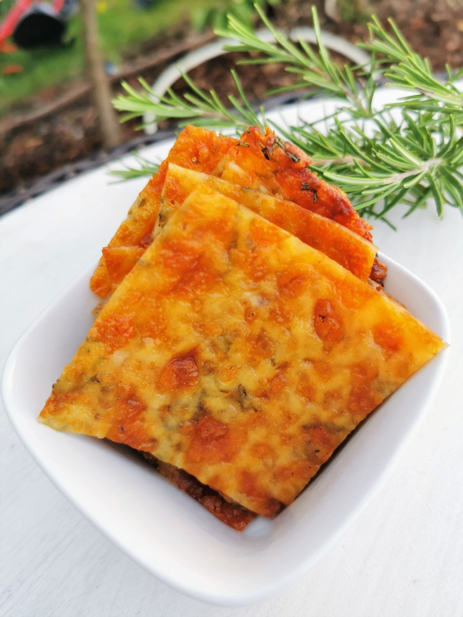 Kaesechips Essen low carb