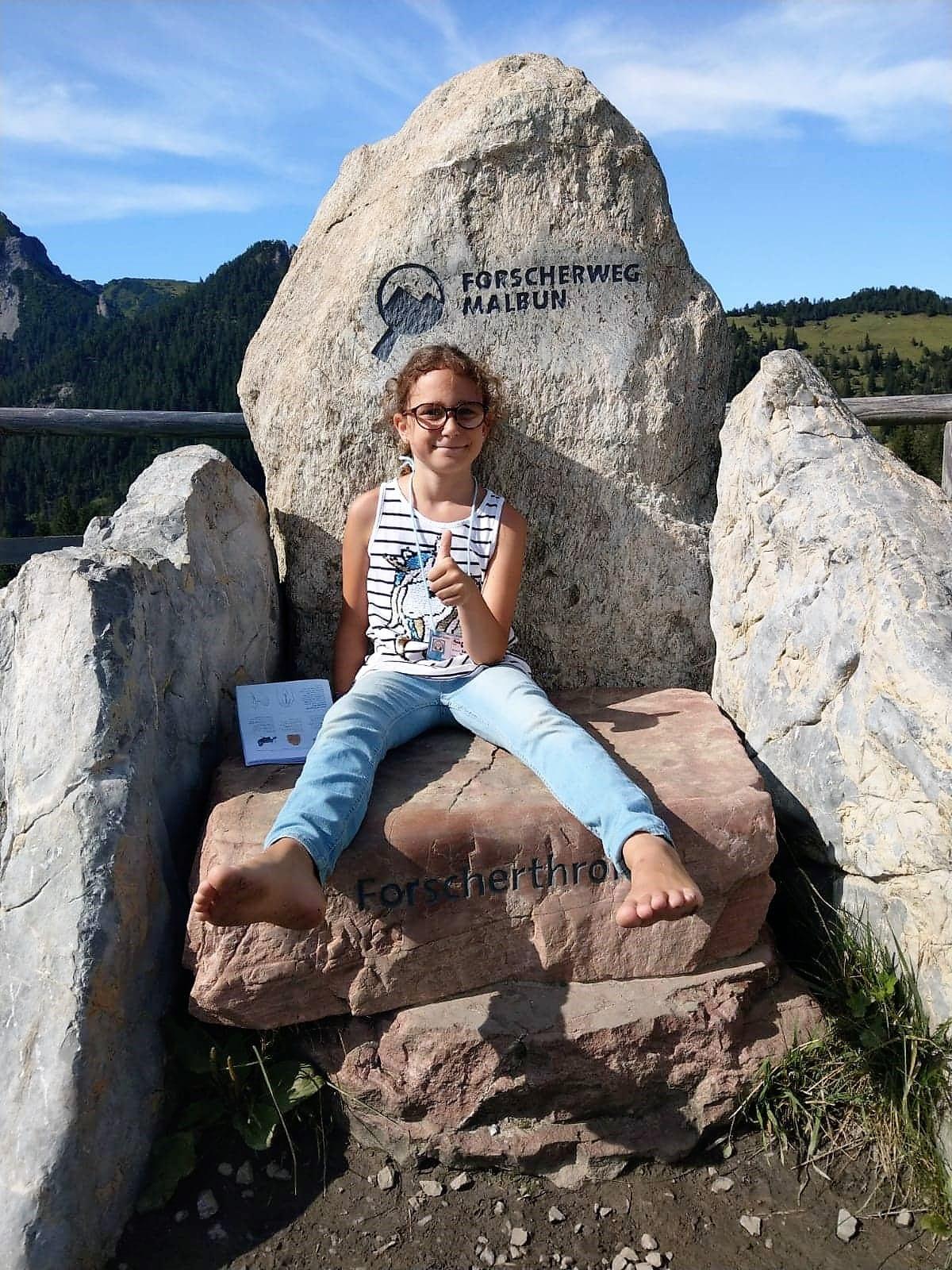 Forscherthron in Malbun - Liechtenstein