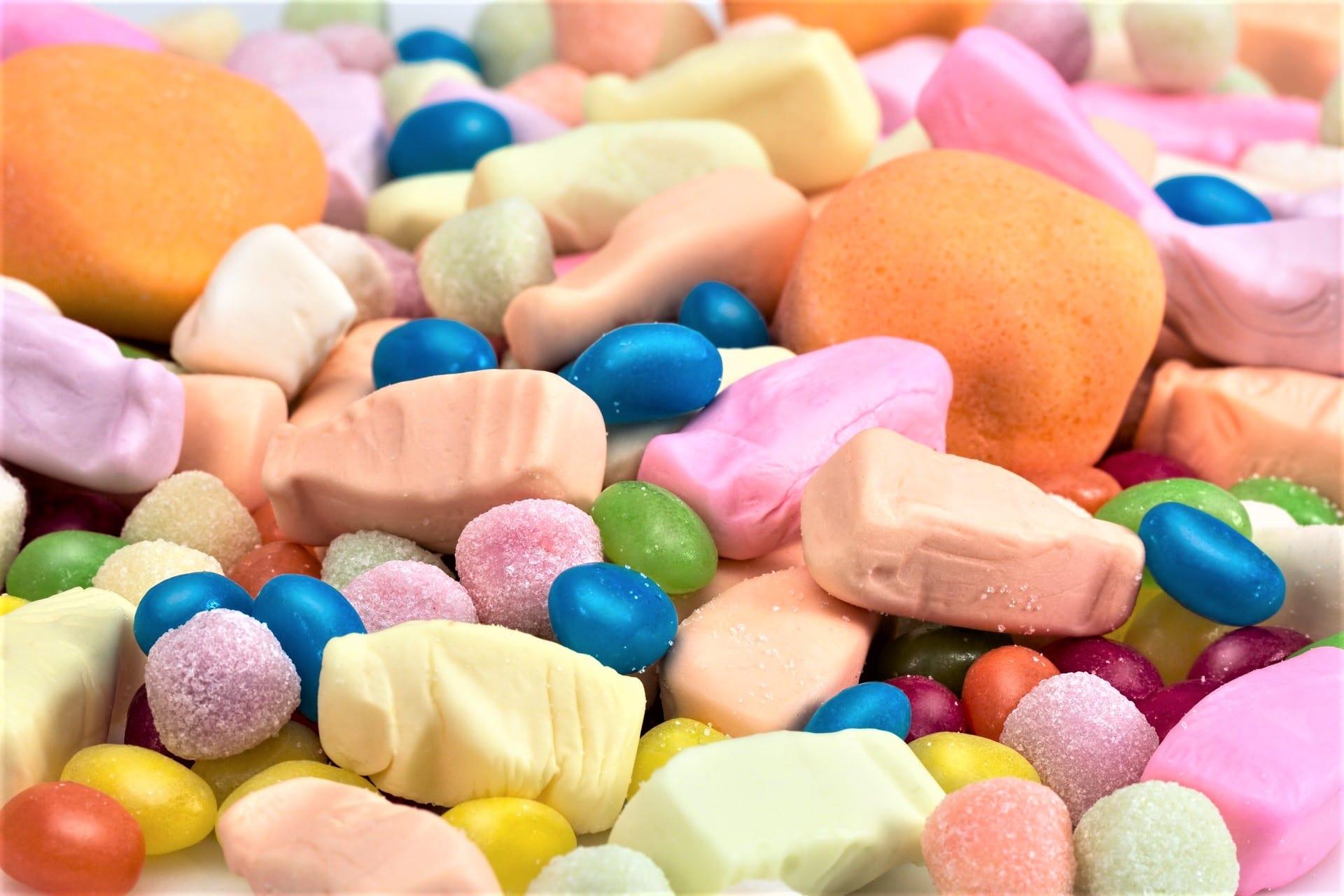 Zucker für Kinder, Süßigkeiten, Gummibärchen, Fruchttiere