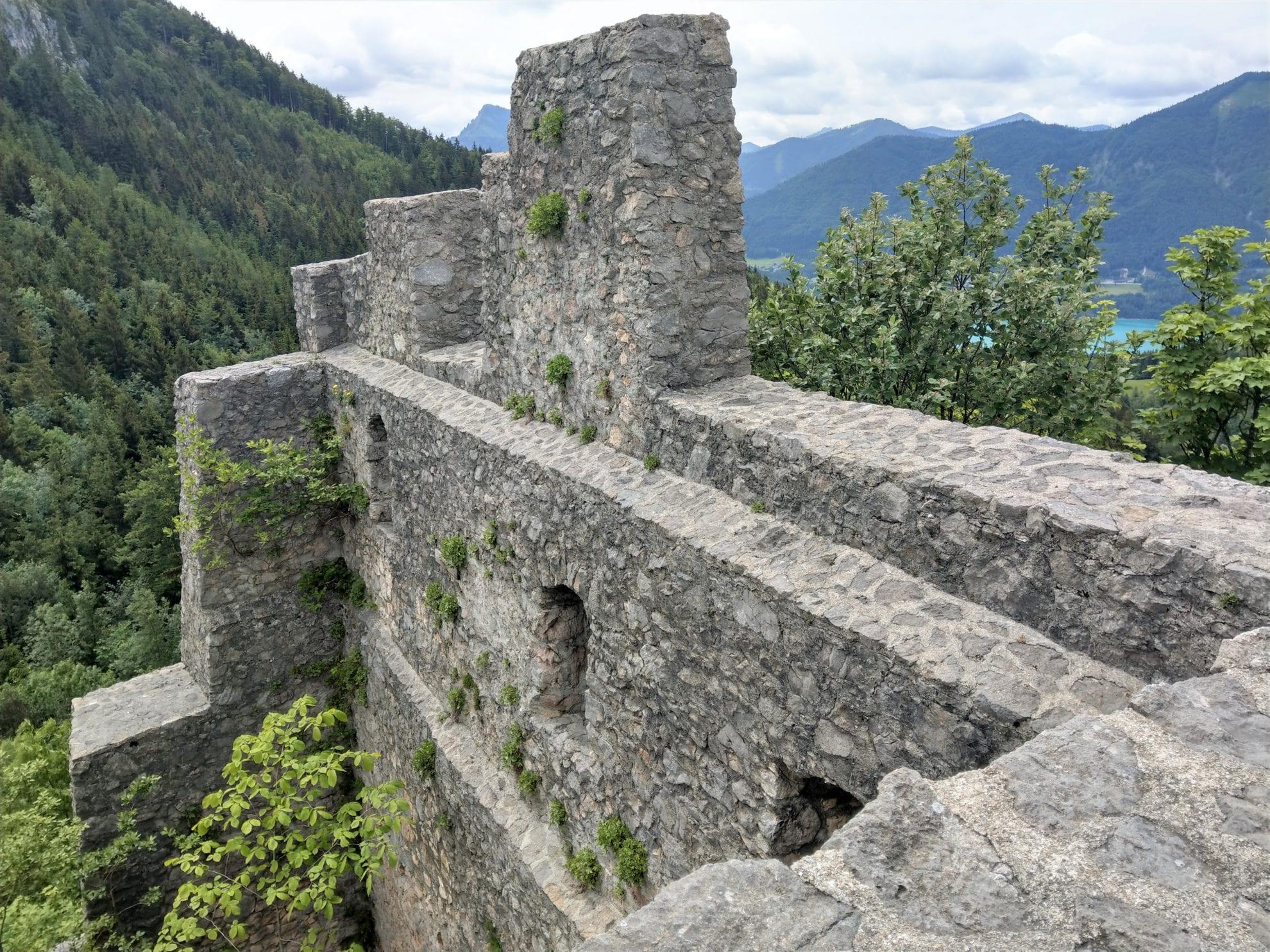 Burgruine Wartenfels Ausblick