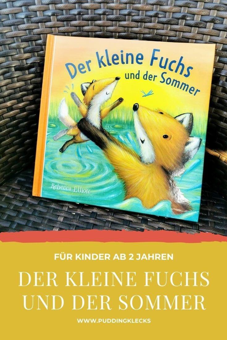 Pin Mamablog Puddingklecks: Der kleine Fuchs und der Sommer