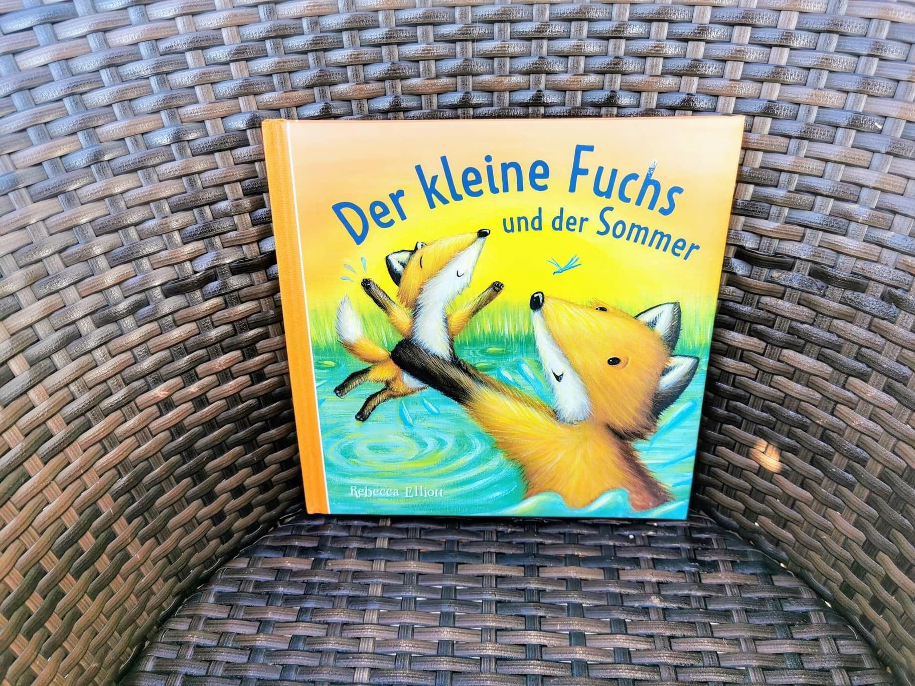 Titel: Der kleine Fuchs und der Sommer - eine Gute-Nacht-Geschichte für Kinder ab 24 Monaten