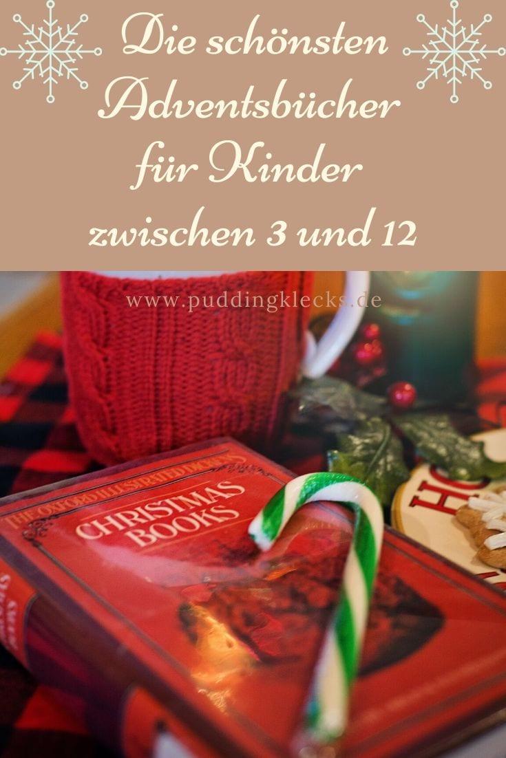 Adventsbücher: Mit 24 Geschichten durch den Advent - Pin