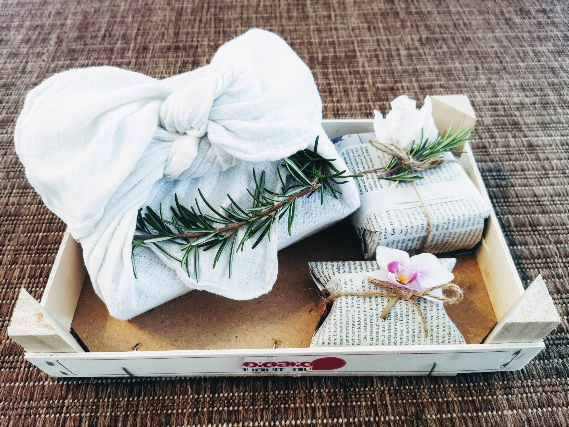 Geschenke verpacken: Alternativen zum Geschenkpapier Puddingklecks Titel