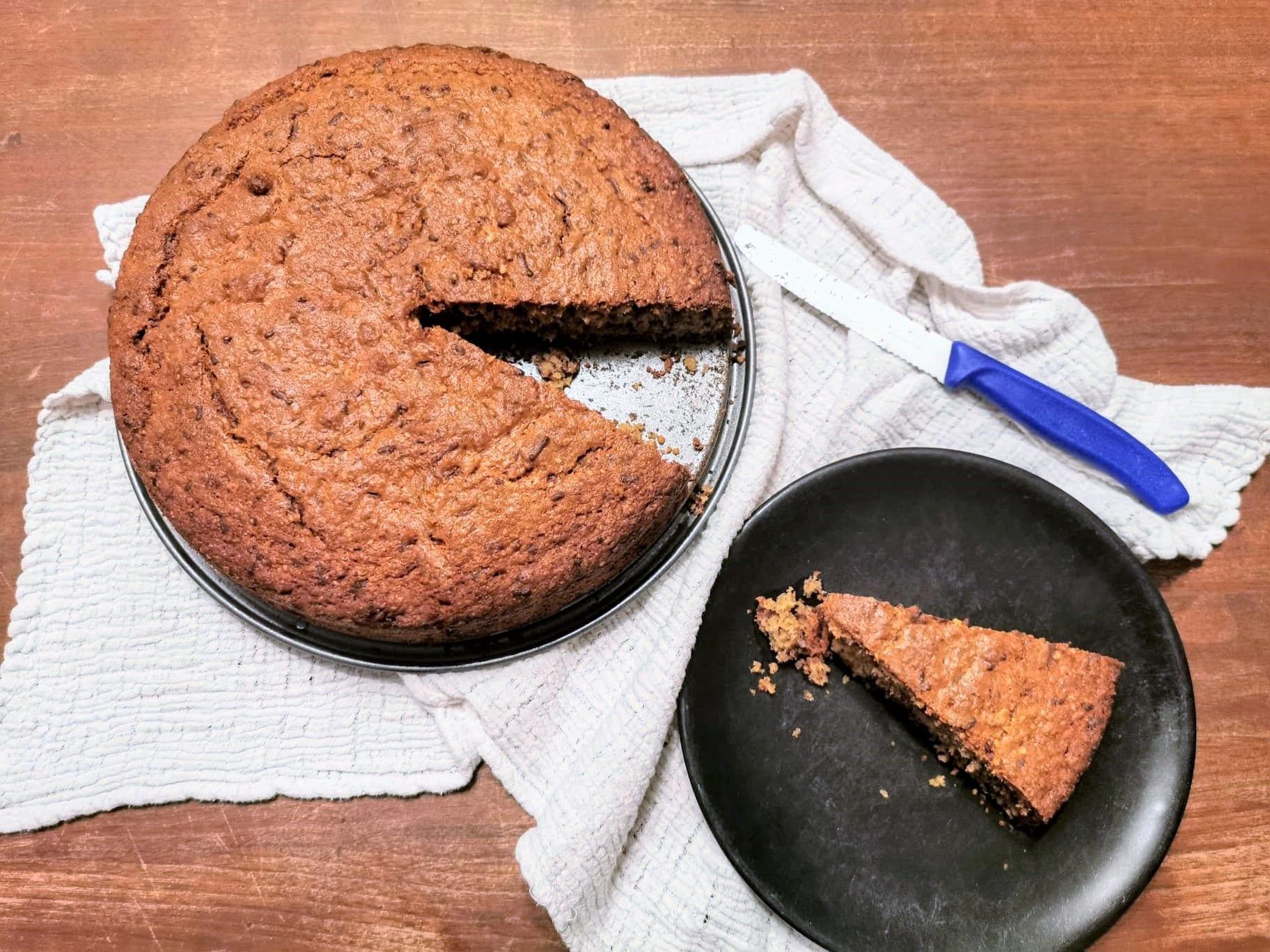 Kuchen Springform Kuchenstück Essen zuckerfrei